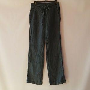Zara women linen pants size small